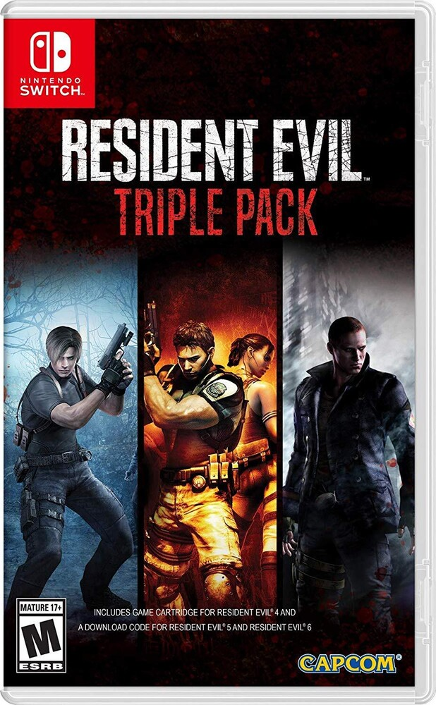 Swi Resident Evil Triple Pack - Resident Evil Triple Pack for Nintendo Switch