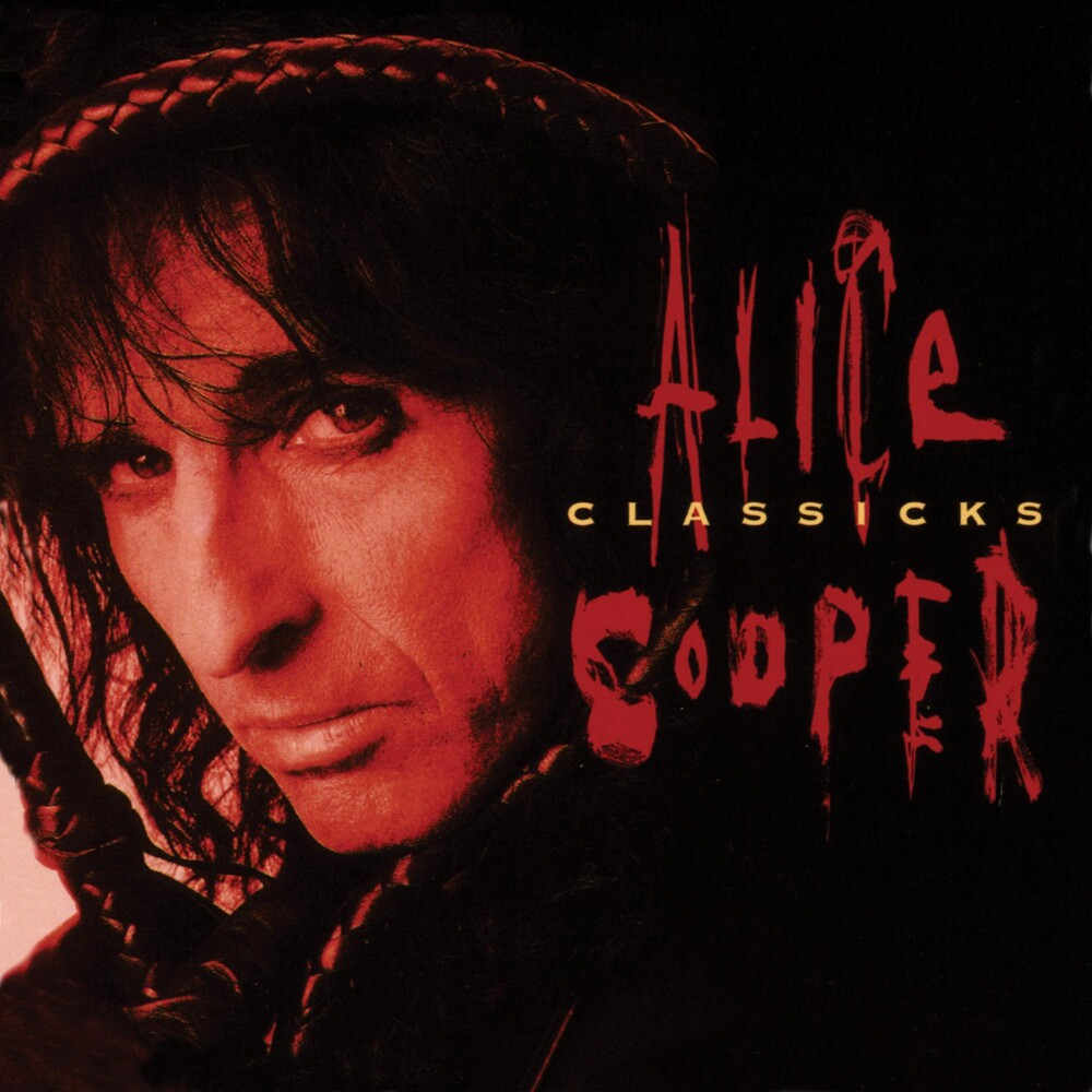 Alice Cooper - Classicks - The Best Of Alice Cooper [Translucent Red & Black Swirl Audiophile Tri-Fold LP]
