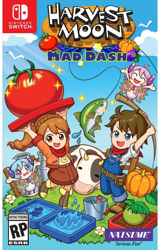 - Harvest Moon: Mad Dash for Nintendo Switch