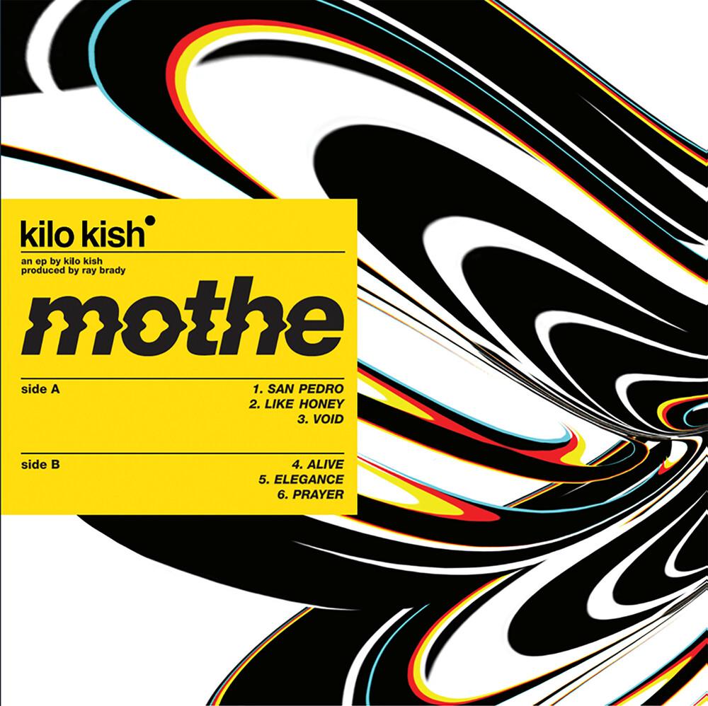 Kilo Kish - Mothe [Black/Yellow/Orange Swirl LP]