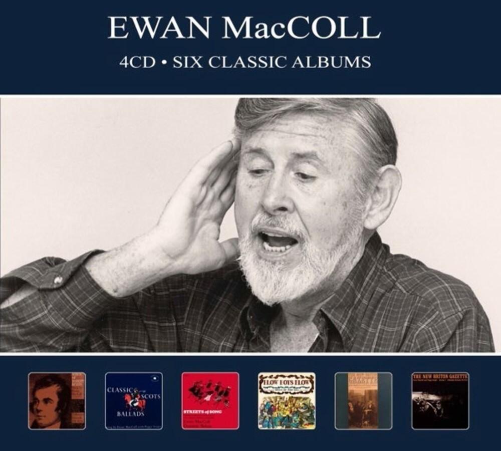 Ewan Maccoll - Six Classic Albums [Digipak] (Hol)