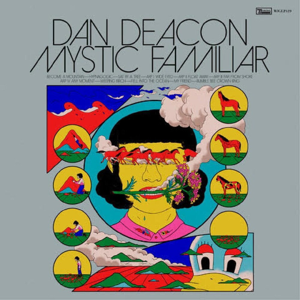 Dan Deacon - Mystic Familiar [Indie Exclusive Limited Edition Silver LP]
