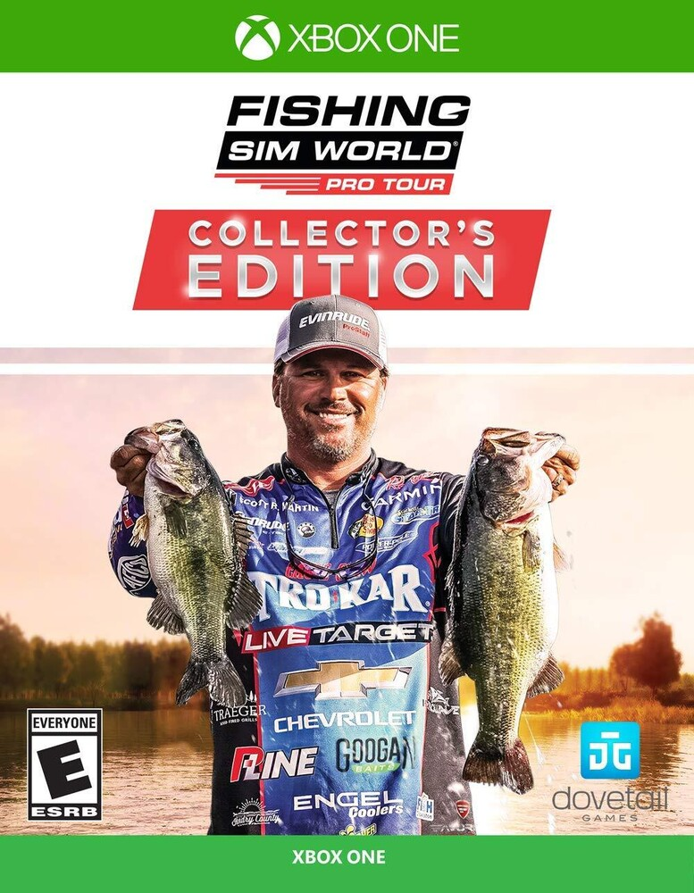 - Fishing Sim World Pro Tour Collectors Edition for Xbox One