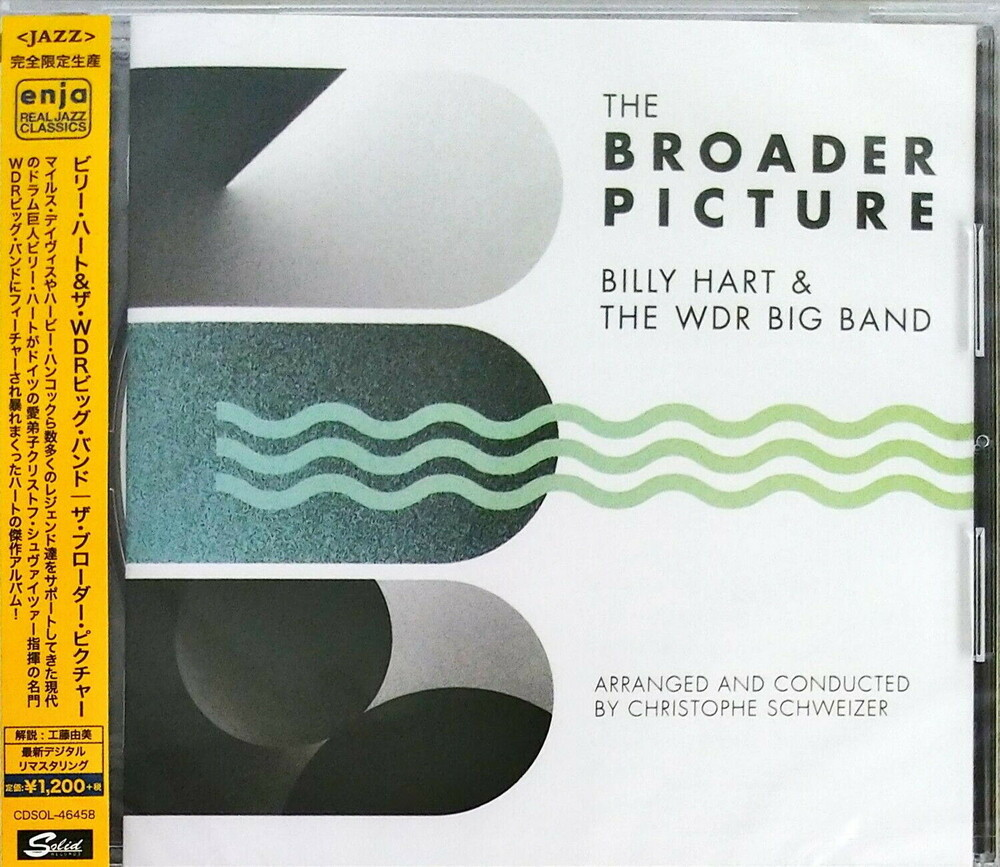 Billy Hart & The Wdr Big Band - Brorder Picture [Remastered] (Jpn)