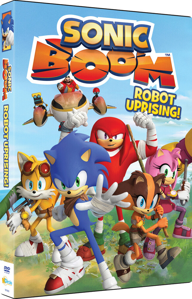 Sonic Boom Robot Uprising - Sonic Boom Robot Uprising / (Ws)