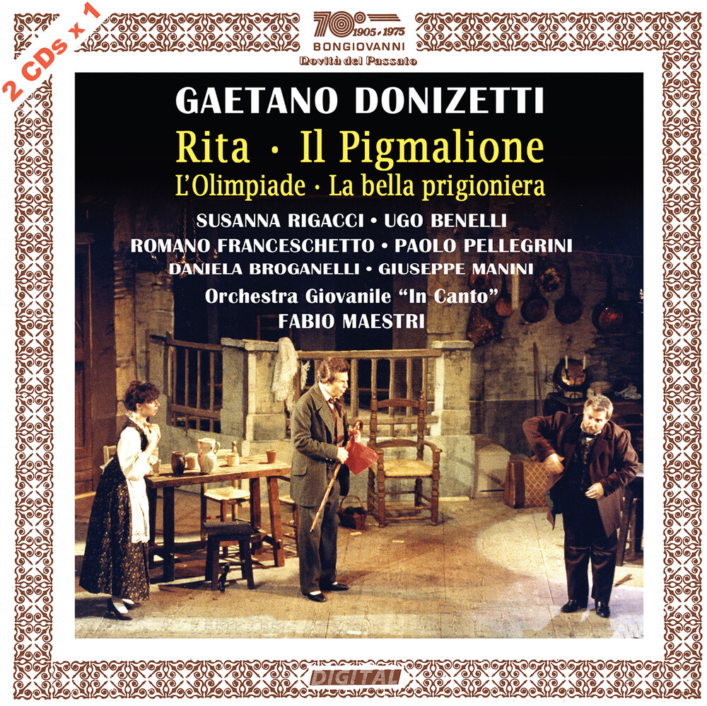 Donizetti / Maestri - Rita / Il Pigmalione (2pk)