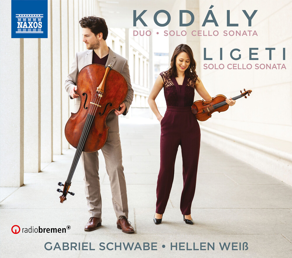 Kodaly / Schwabe / Weiss - Sonata For Cello Solo