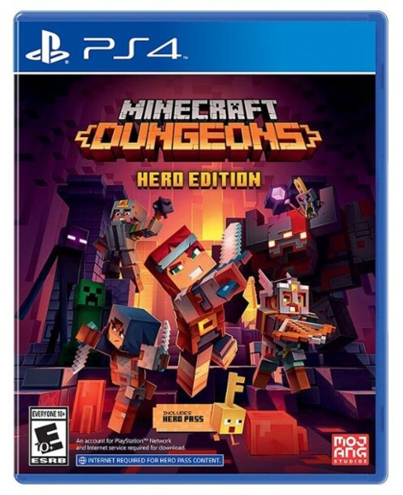 Ps4 Minecraft Dungeons Hero Edition - Ps4 Minecraft Dungeons Hero Edition
