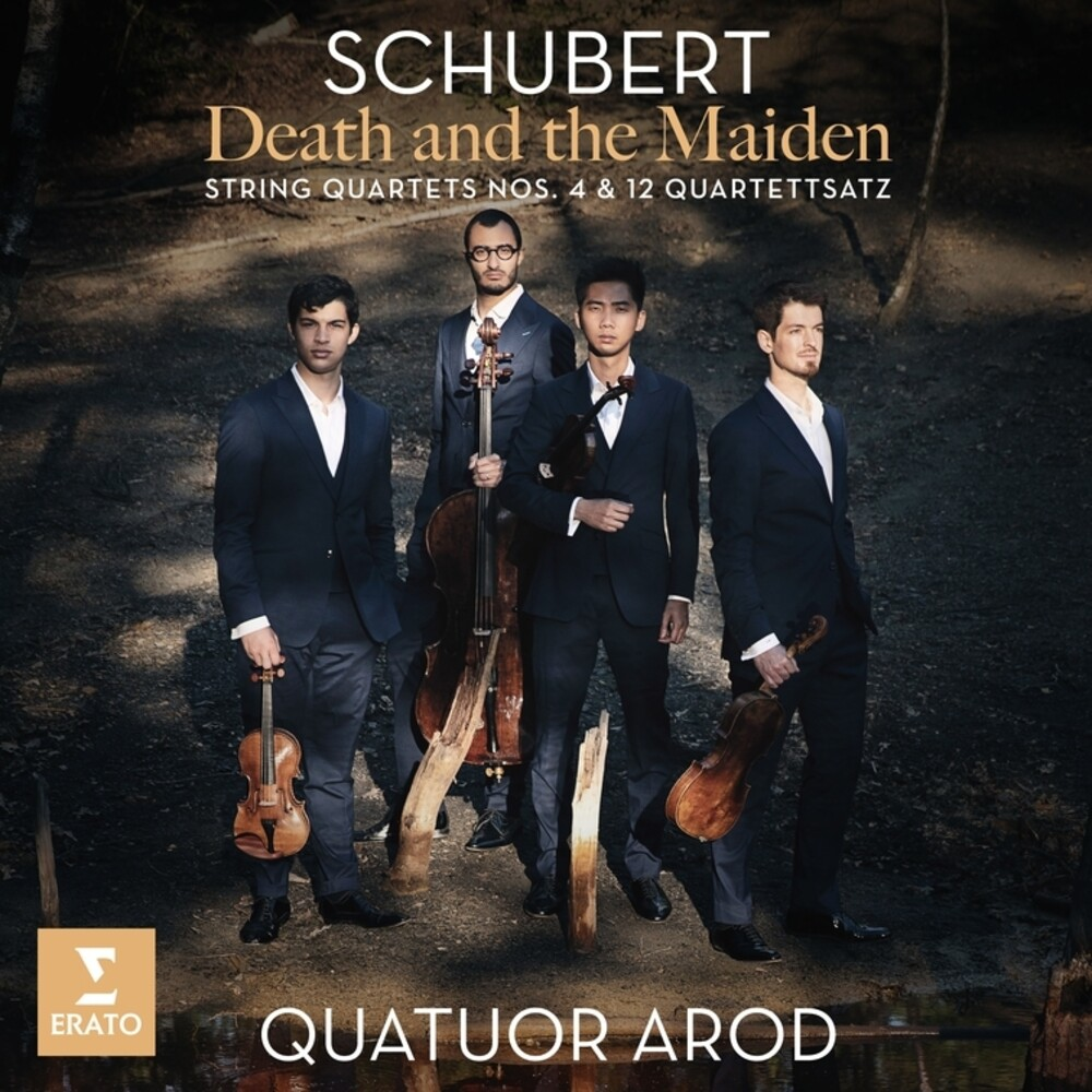 Quatuor Arod - Schubert: Death and the Maiden String Quartets N0. 4 & 12