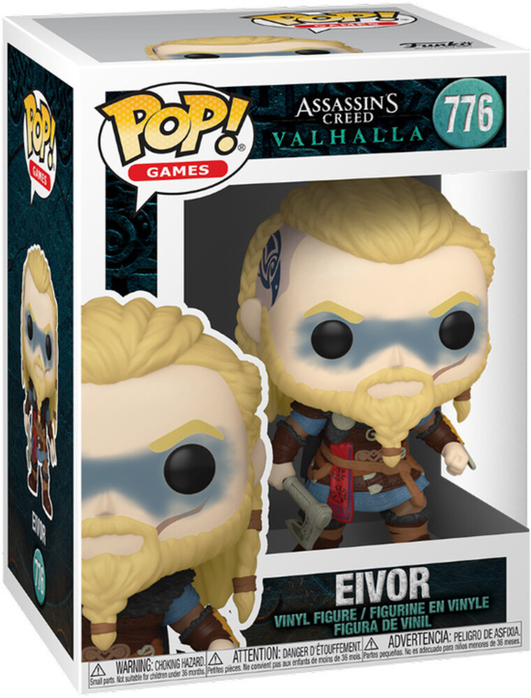 - FUNKO POP! GAMES: Assassins Creed Valhalla- Eivor