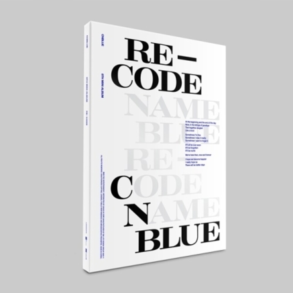 CNBlue - Re-Code [With Booklet] (Pcrd) (Phot) (Spec) (Asia)