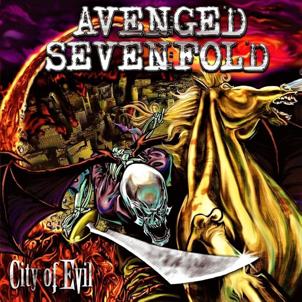 Avenged Sevenfold - City Of Evil (Transparent Red Vinyl) (Red)