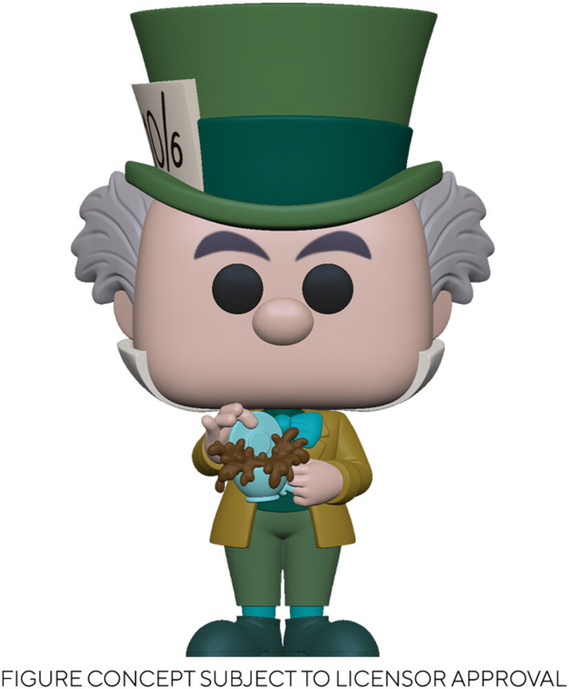 - FUNKO POP! DISNEY: Alice in Wonderland 70th - Mad Hatter