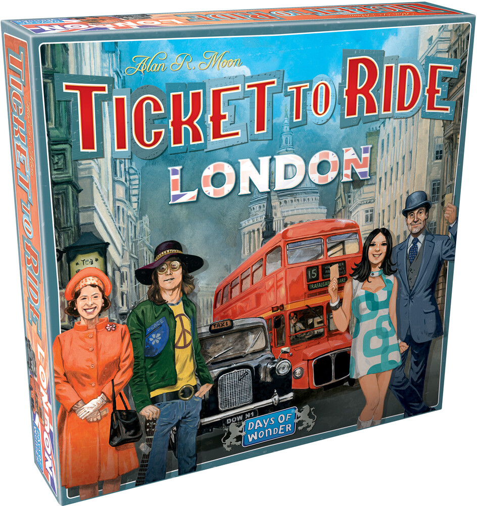 Ticket to Ride London - Ticket to Ride: London