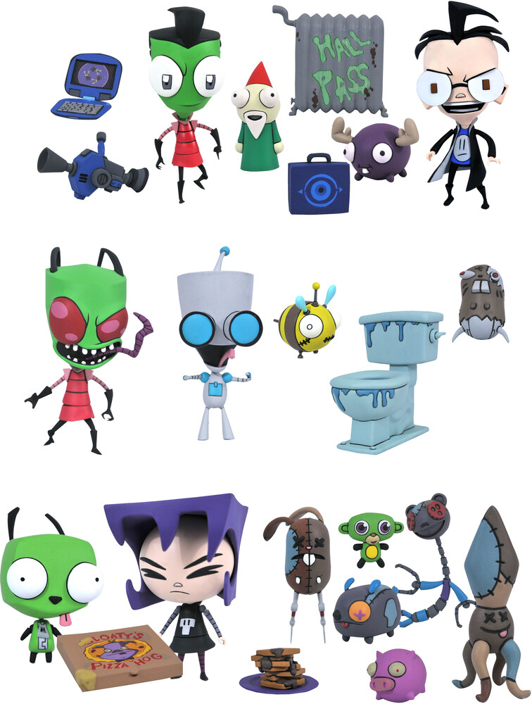 Diamond Select - Diamond Select - Invader Zim Series 1 Action Figure Assortment