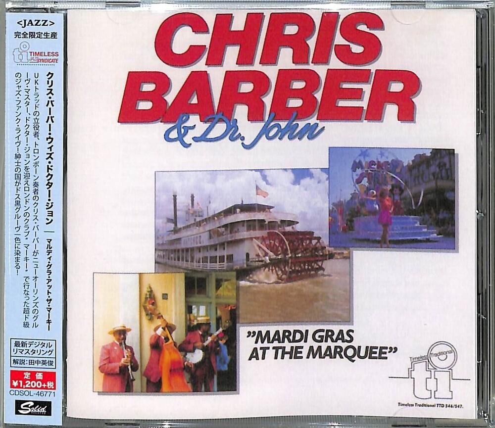 Chris Barber  / Dr John - Mardi Gras At The Marquee [Remastered] (Jpn)
