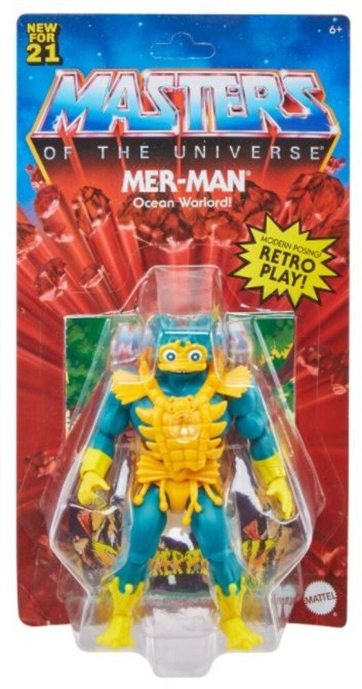 - Mattel Collectible - Masters of the Universe Origins Lords of Power Mer-Man (He-Man, MOTU)