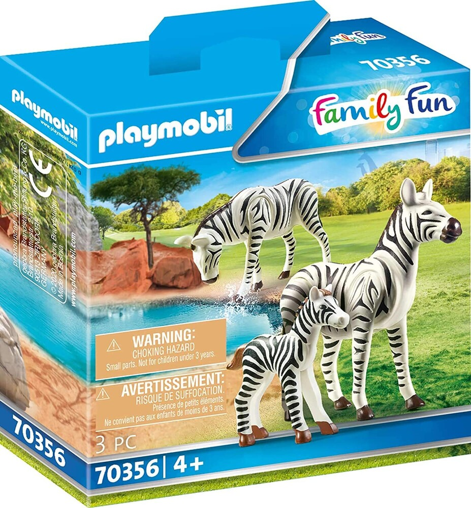 - Family Fun Zebras With Foal (Fig)