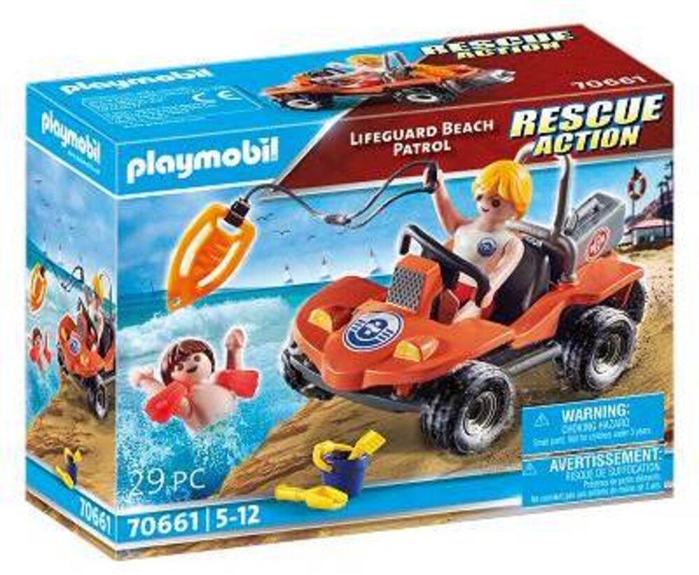 Playmobil - Rescue Action Lifeguard Beach Patrol (Fig)