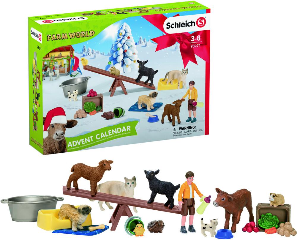 Schleich - Schleich Advent Calendar Farm World 2021 (Cal)
