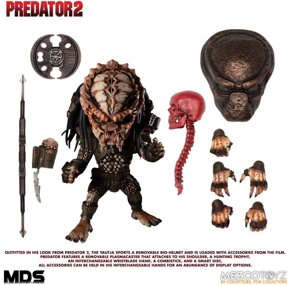 - Mds Predator 2: Deluxe City Hunter (Clcb) (Fig)