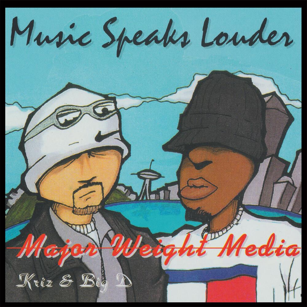 Major Weight Media - Music Speaks Louder (Ep)