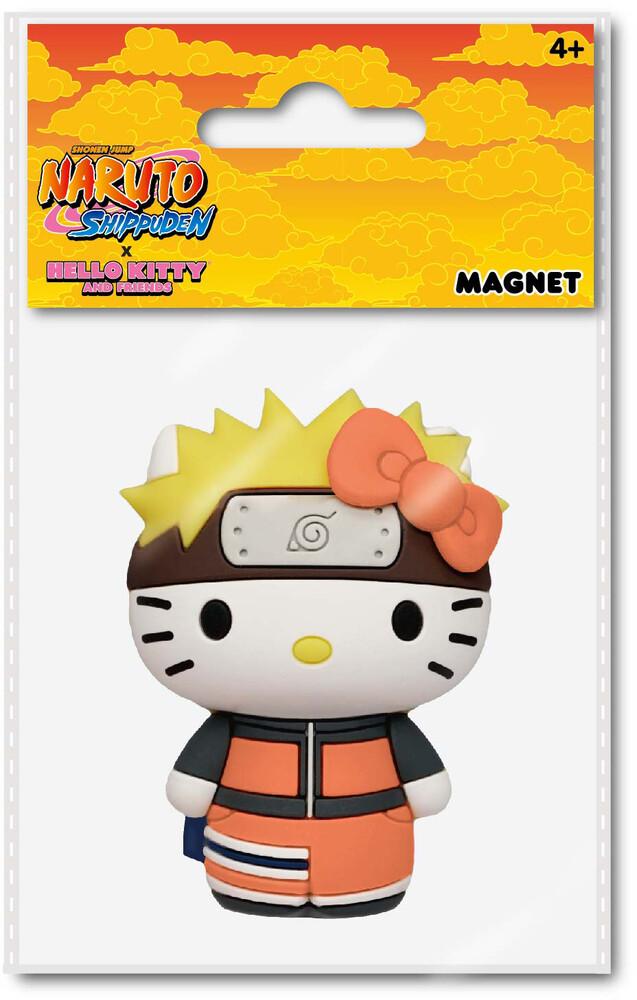 Naruto X Hello Kitty 3D Foam Magnet - Naruto X Hello Kitty 3d Foam Magnet (Mag)