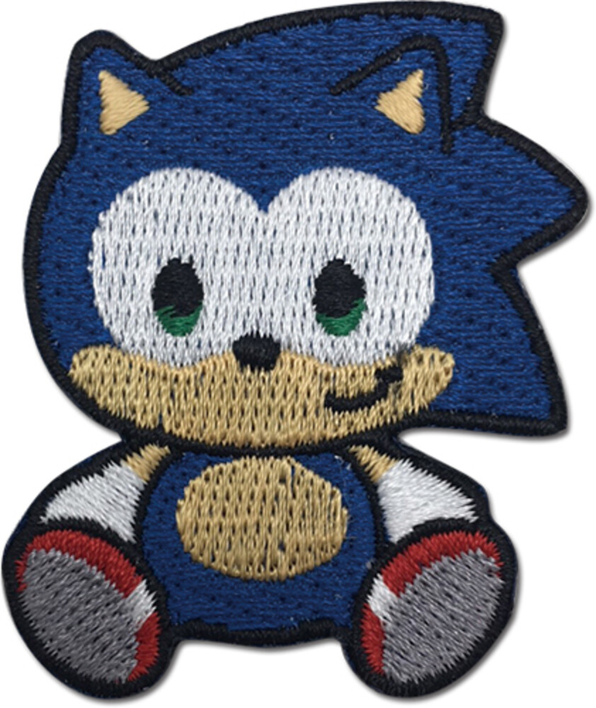 Sonic the Hedgehog Sonic Doll 1.5 Inch Patch - Sonic The Hedgehog Sonic Doll 1.5 Inch Patch