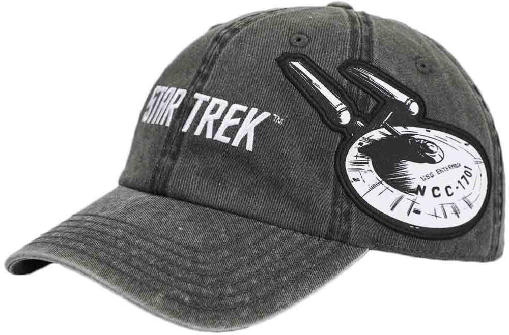 Star Trek Enterprise Pigment Dye Side Art Bb Cap - Star Trek Enterprise Pigment Dye Side Art Bb Cap