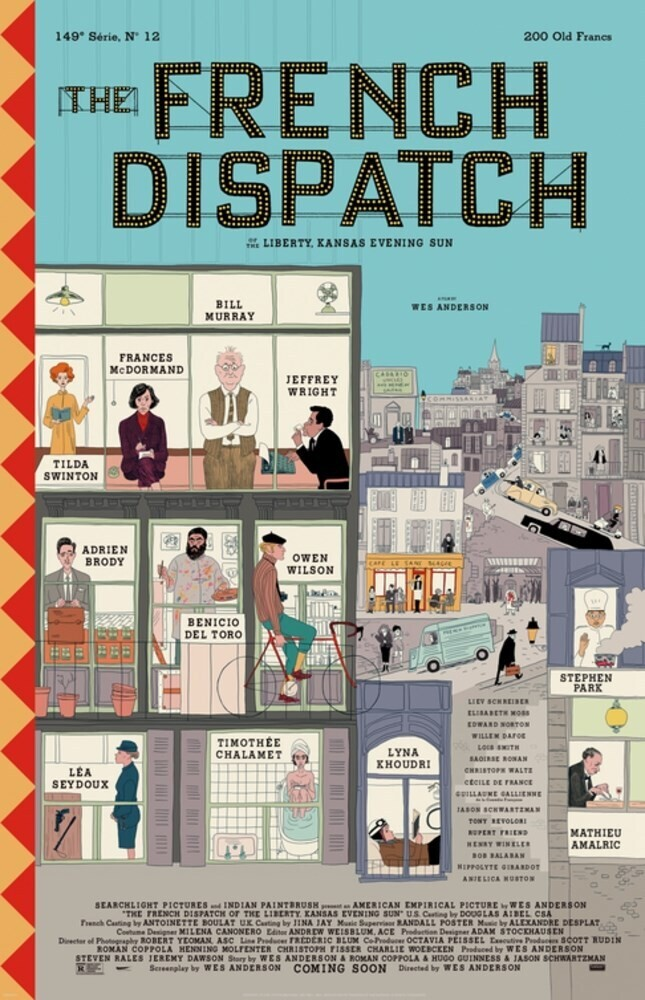 Wes Anderson - French Dispatch (Hcvr)