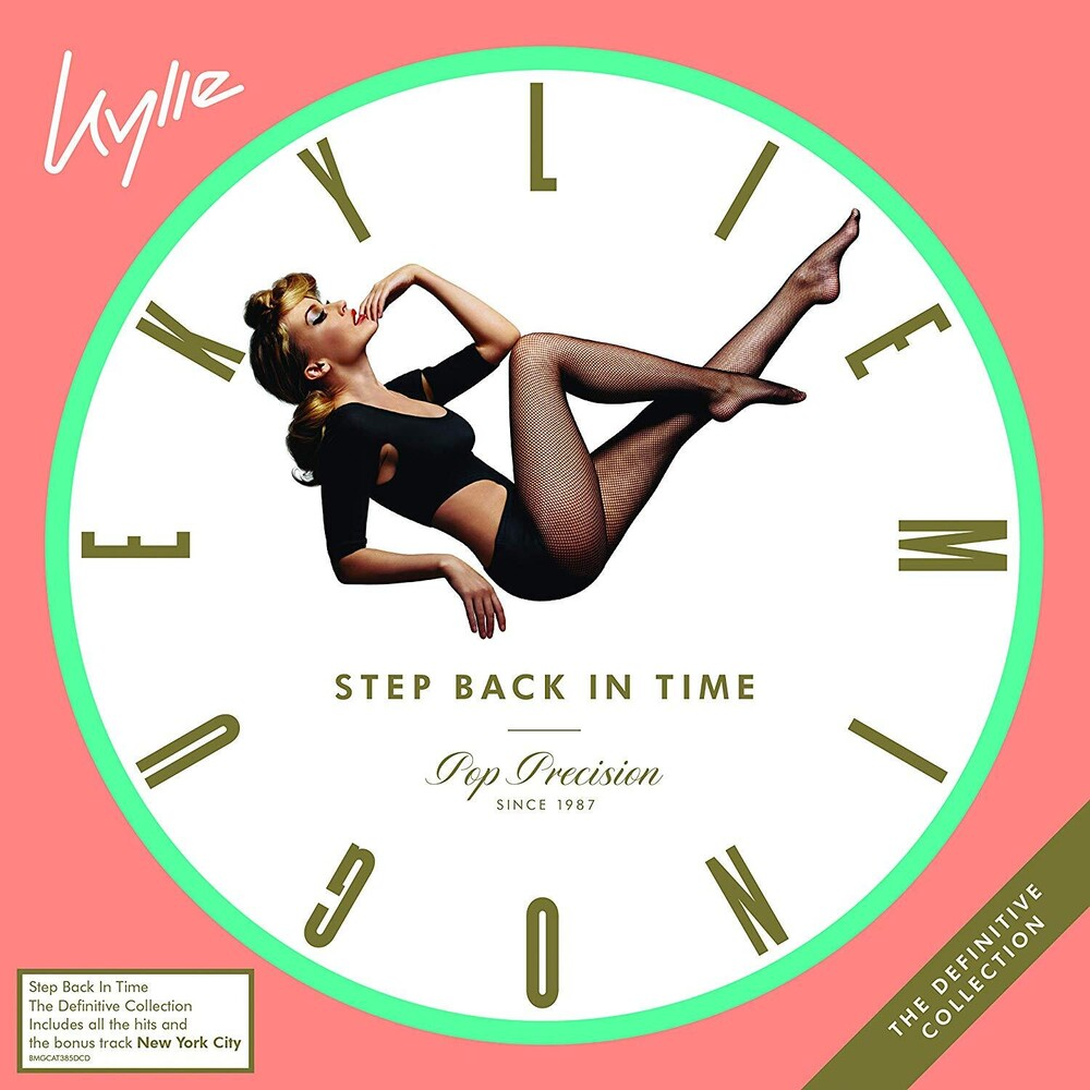 Kylie Minogue - Step Back In Time: The Definitive Collection [Limited Edition Casebound Book 2CD]