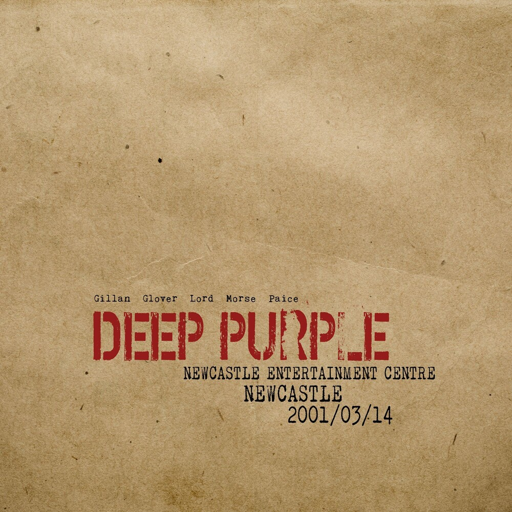 Deep Purple - Live In Newcastle 2001 [3LP]