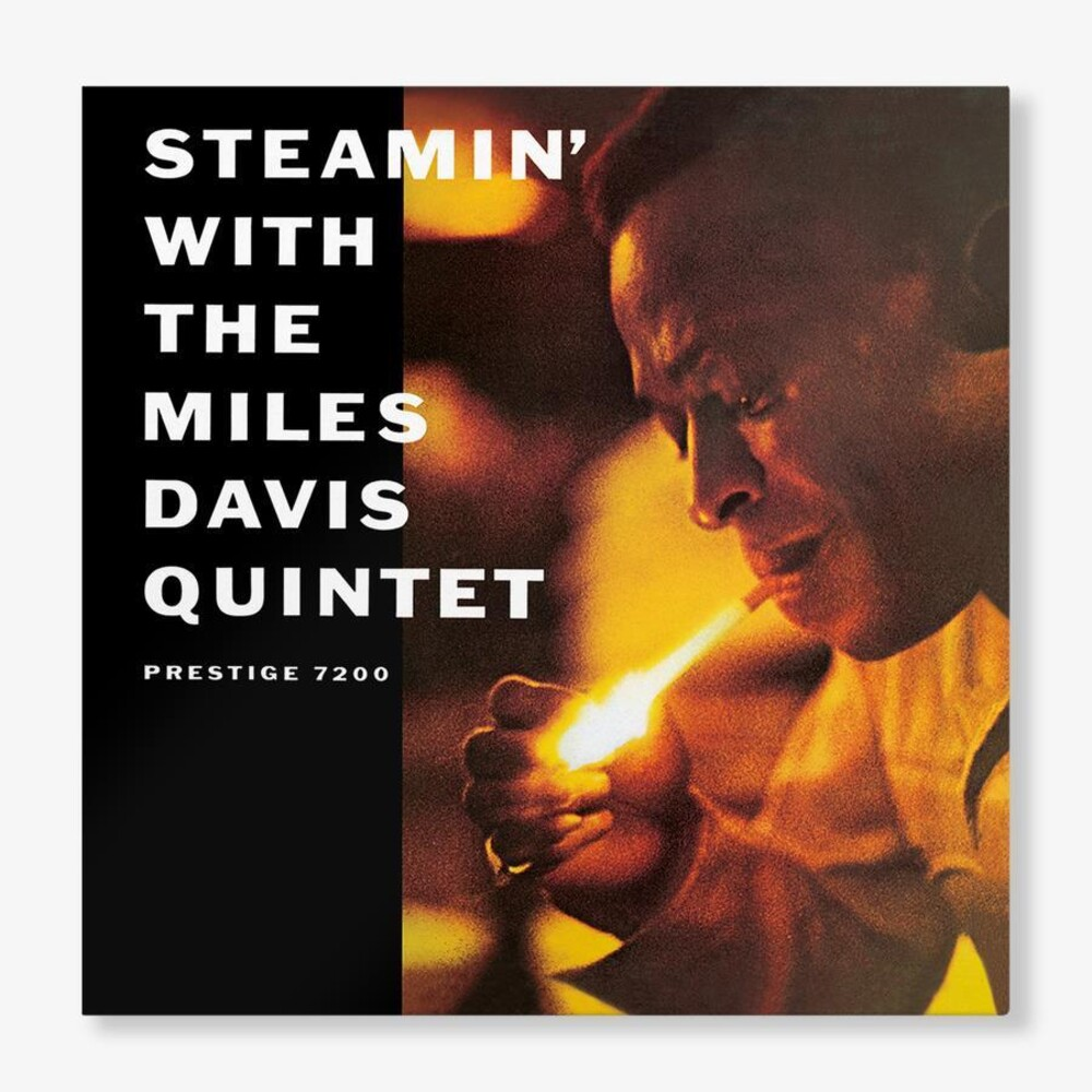 Miles Davis - Steamin With Miles Davis Quintet (Blue) [Clear Vinyl]