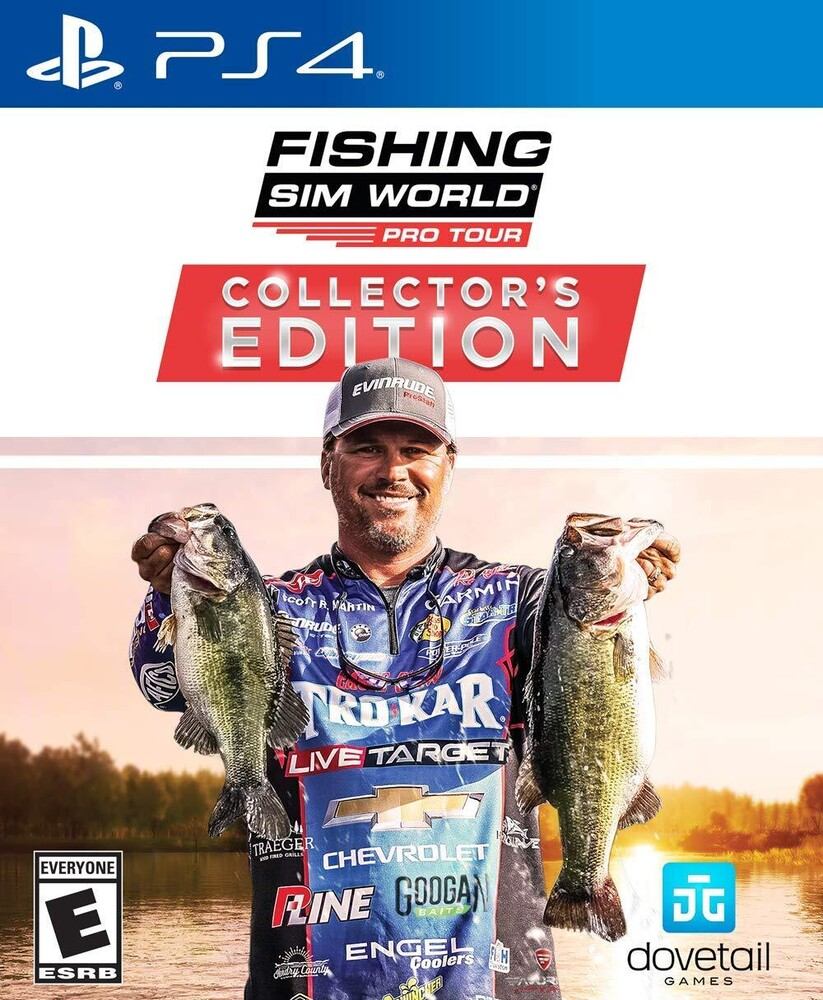 - Fishing Sim World Pro Tour Collectors Edition for PlayStation 4