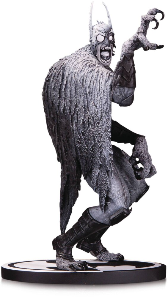 - DC Collectibles - Batman Black & White Statue Batmonster By G Capullo