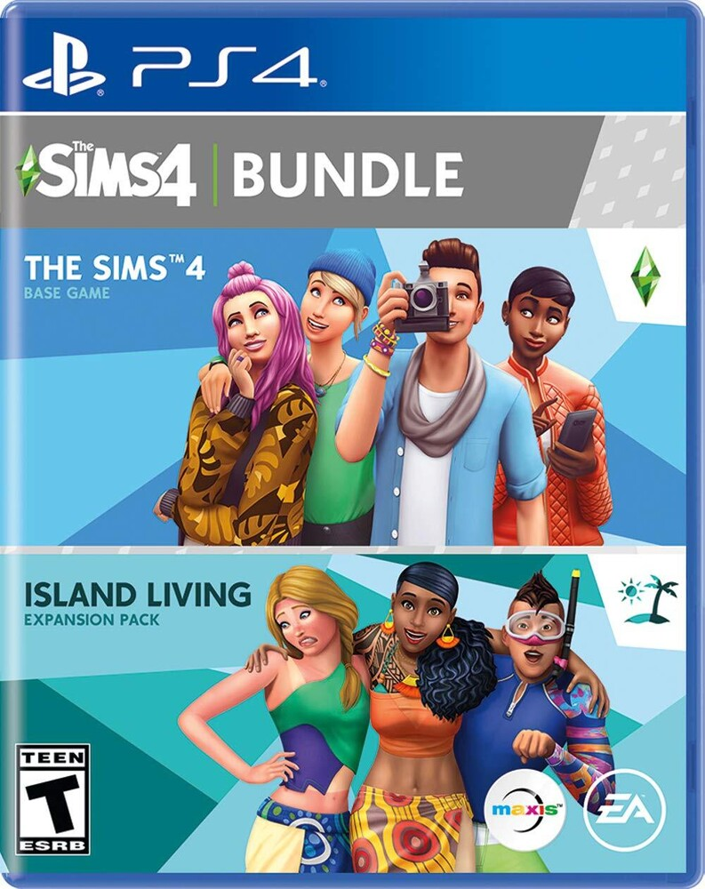 Ps4 Sims 4 Island Living Bundle - The Sims 4 Plus Island Living Bundle for PlayStation 4
