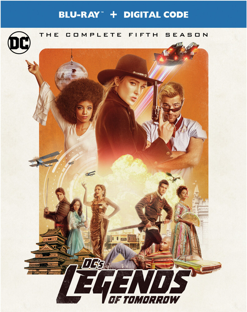 - Dc's Legends Of Tomorrow: Complete Fifth Season