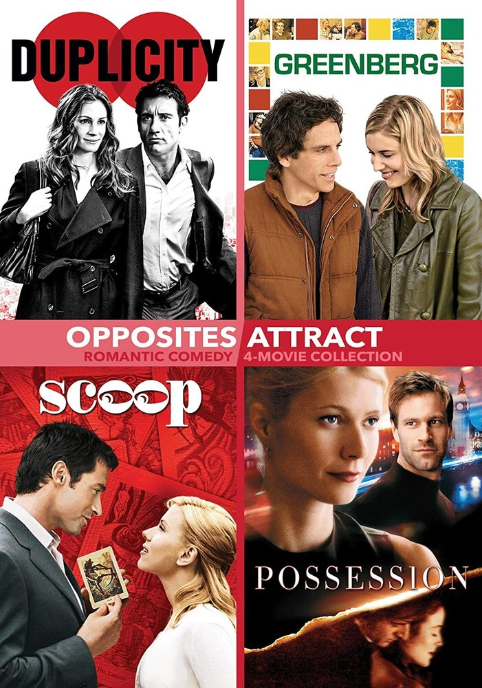 Opposites Attract - Romance 4 Pack DVD - Opposites Attract - Romance 4 Pack (2pc) / (2pk)