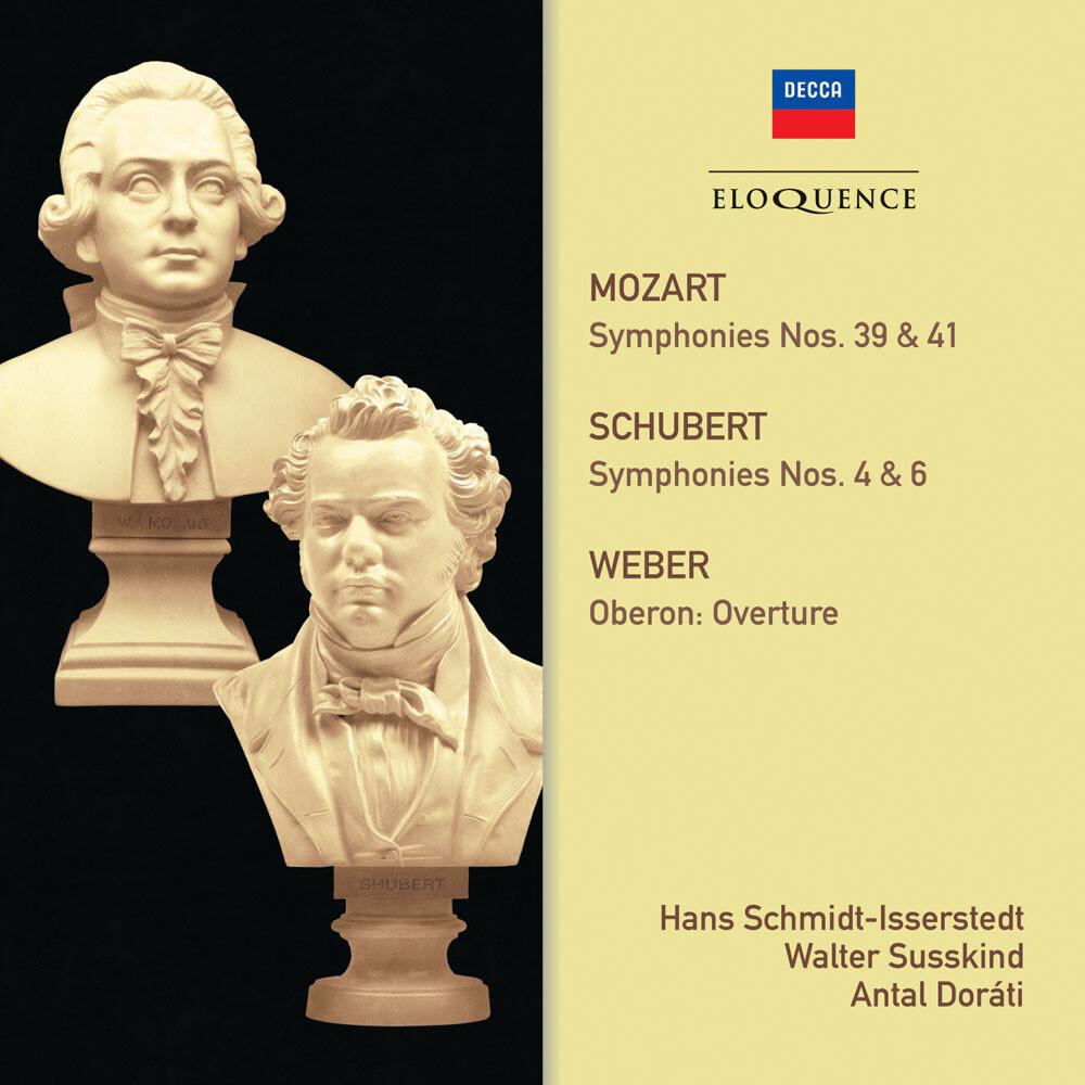 Mozart / Schubert / Schmidt-Isserstedt / Susskind - Mozart Schubert: Symphonies (Aus)
