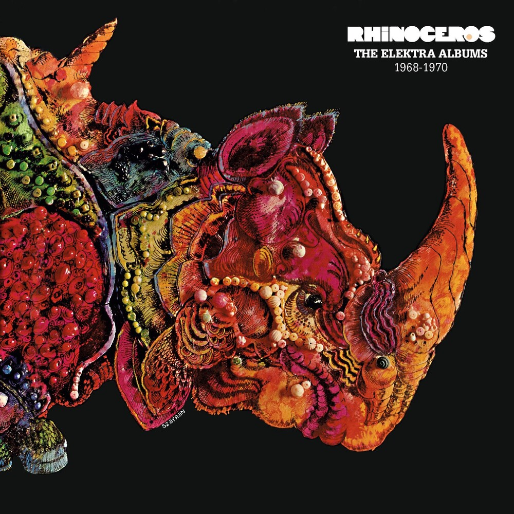 Rhinoceros - Elektra Albums 1968-1970 [Remastered] (Uk)