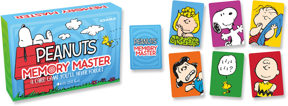 Peanuts Memory Master Card Game - Peanuts Memory Master Card Game