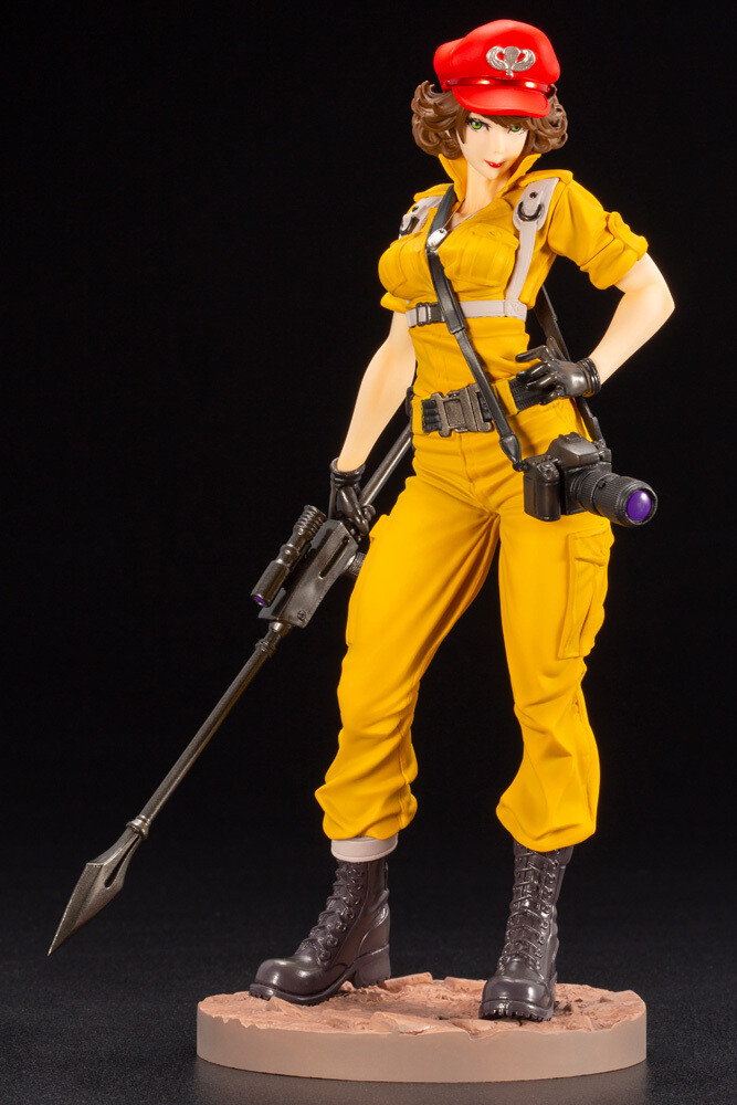 G.I. Joe Lady Jayne Canary Ann Color Bishoujo Stat - Kotobukiya - G.I. Joe - Lady Jayne Canary Ann Color Bishoujo Statue