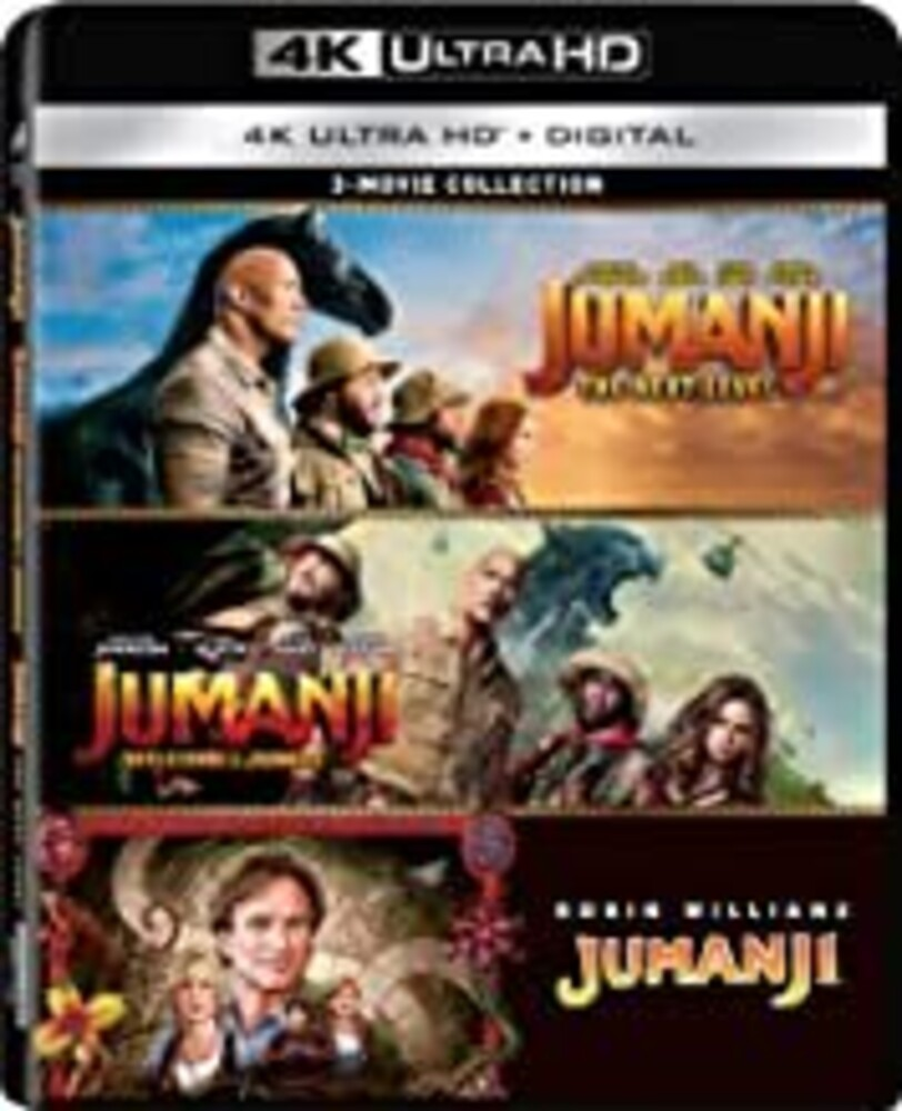 Jumanji / Jumanji: Welcome to the Jungle / Jumanji - Jumanji: 3-Movie Collection