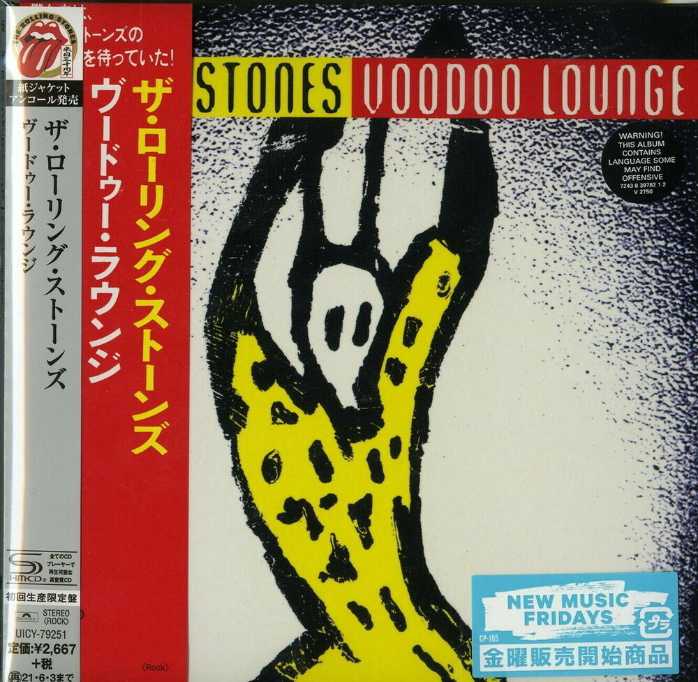 The Rolling Stones - Voodoo Lounge (SHM-CD) (Paper Sleeve) [Import]
