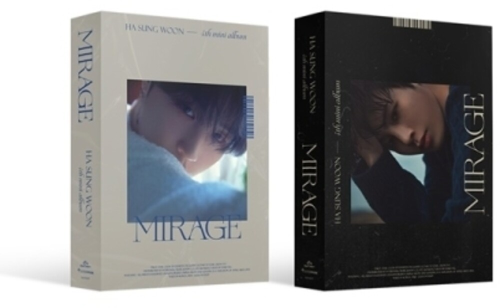 HA SUNG WOON - Mirage (Random Cover) (incl. 72pg Photobook, Selfie Photocard, FilmPhotocard, Folded Photocard + Sticker)