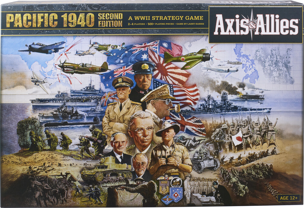 Axis and Allies Pacific 1940 - Hasbro Gamming - Axis And Allies Pacific 1940
