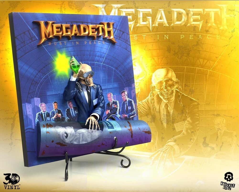 - Knucklebonz - Megadeth (Rust In Peace) 3D Vinyl