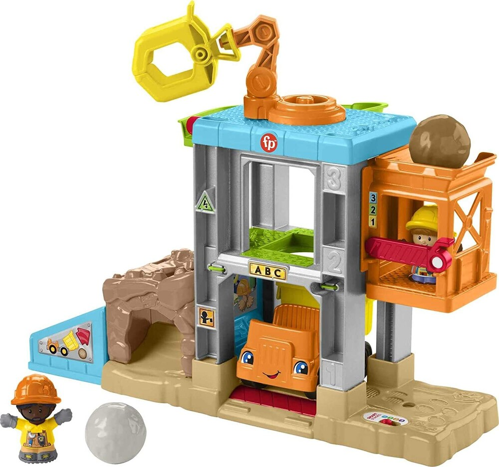 Little People - Fisher Price - Little People Construction Plano