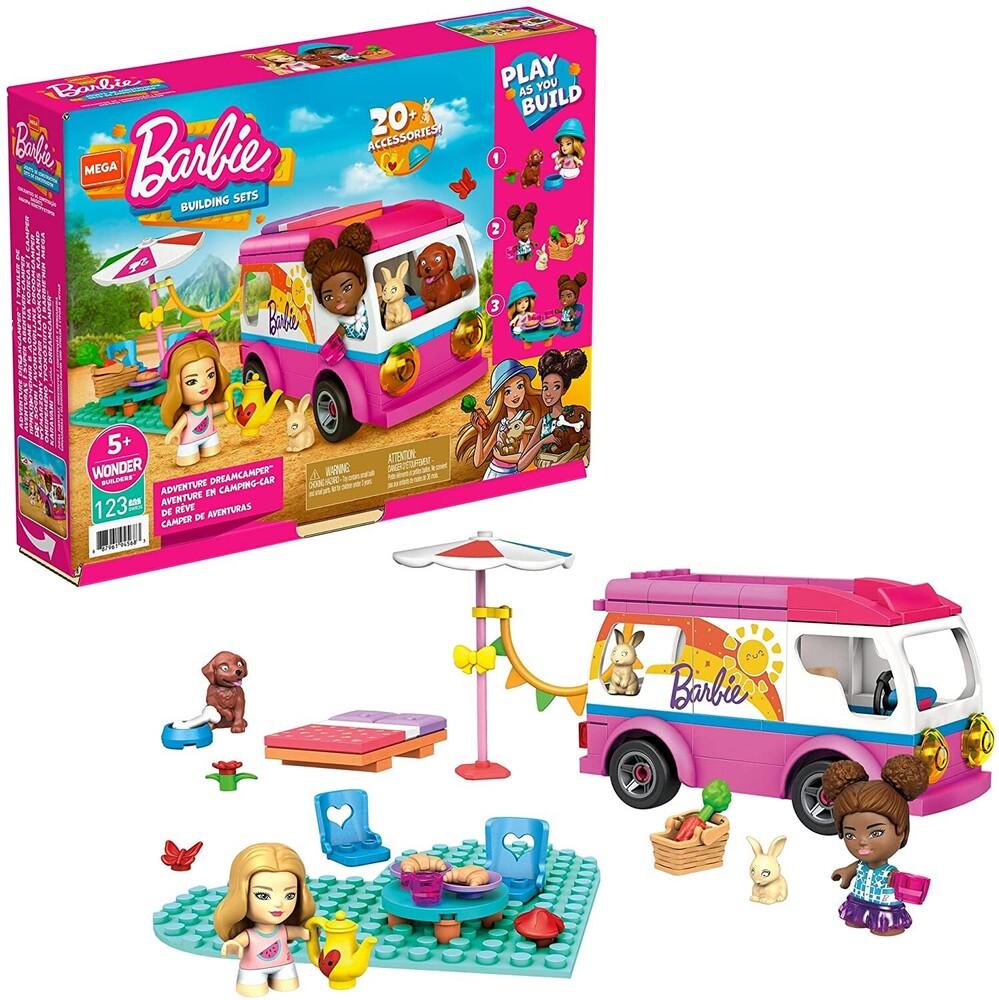 Mega Brands Barbie - MEGA Brands - Barbie Adventure Dream Camper