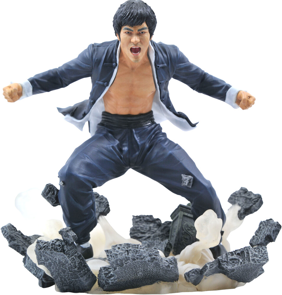 - Bruce Lee Gallery Earth Pvc Statue (Clcb) (Stat)